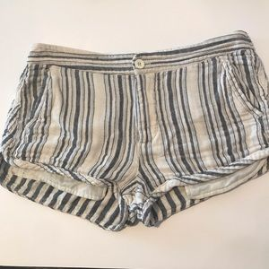 Free People Night Moves striped shorts